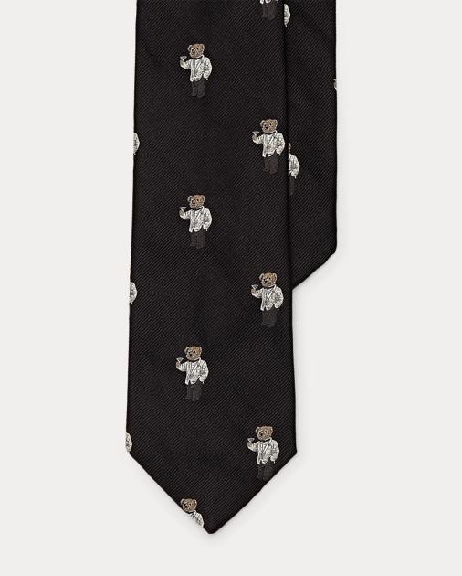 Narrow Narrow Silk Bear Silk Tie Bear Martini Tie Bear Martini Silk Martini hdtsQrxC