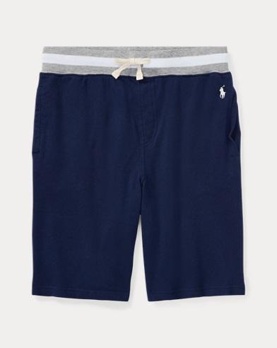 Shorts aus Baumwollfrottee