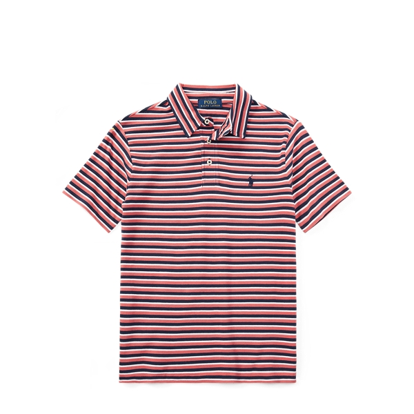 Ralph Lauren Featherweight Cotton Mesh Polo Adirondack Berry Multi S