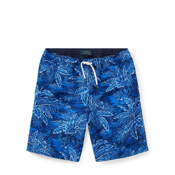 Ralph Lauren Captiva Tropical Swim Trunk Aloha/Newport Navy S