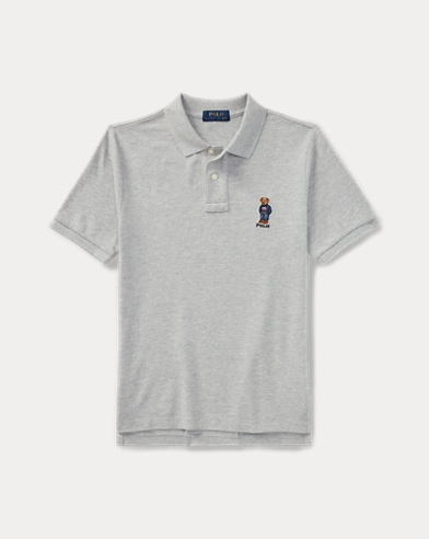 Polo Polo Bear in piqué di cotone