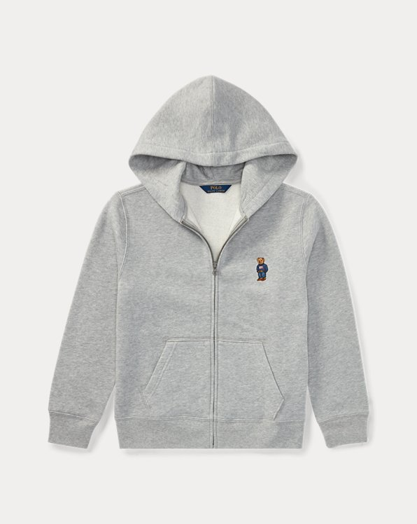 Polo Bear Cotton-Blend Hoodie