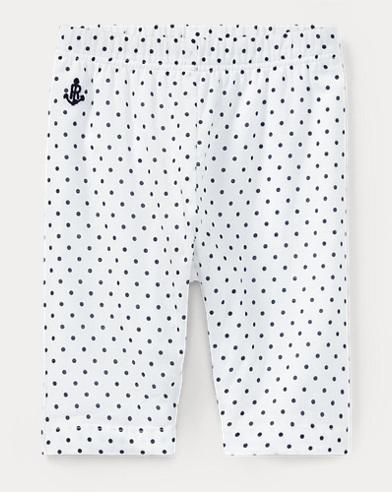 Polka-Dot Cotton Batiste Pant