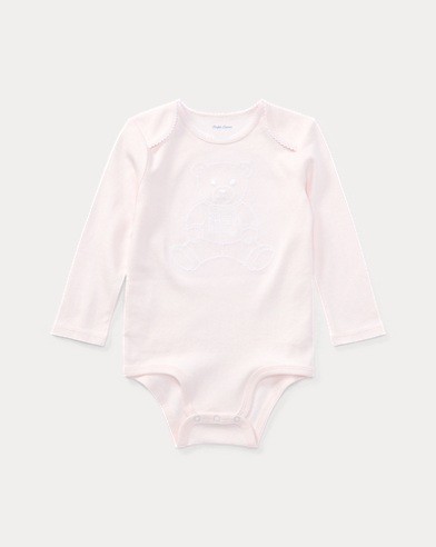 Body bébé Polo Bear brodé