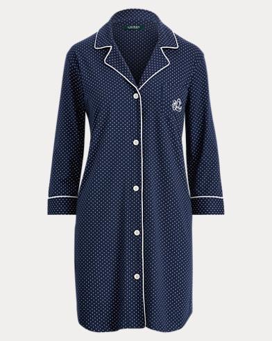Chemisede nuit en jersey de coton