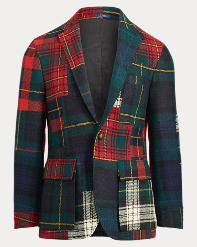 Morgan Patchwork Sport Coat