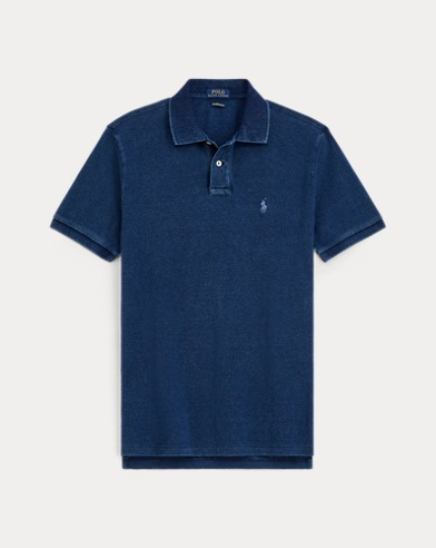 Custom Slim Cotton Mesh Polo