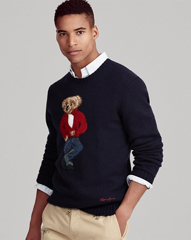 51e58d4563e47 Polo Bear Wool Sweater. Polo Ralph Lauren