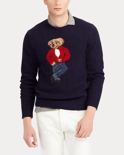 d8ca9591b1031 Polo Ralph Lauren Polo Bear Wool Sweater 4