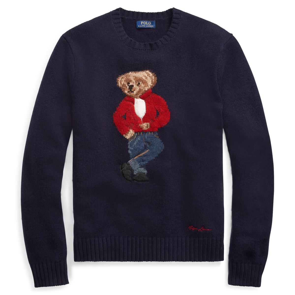 57de9de14 Polo Bear Wool Sweater