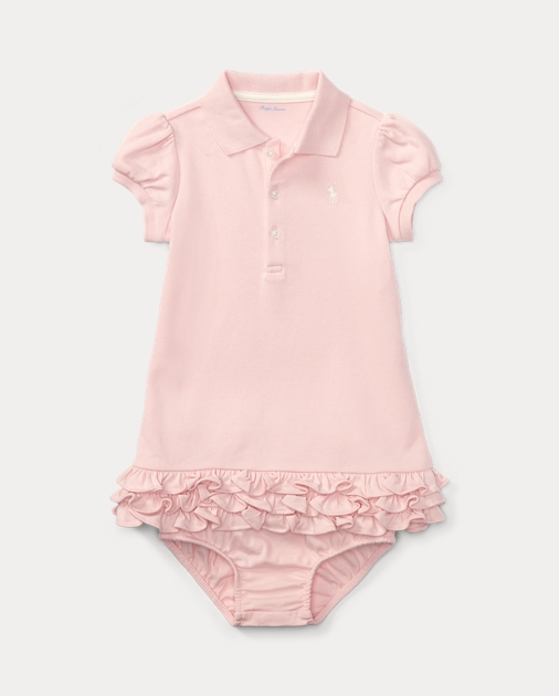 f506099eb175 Ruffled Polo Dress & Bloomer | Dresses BABY GIRL (0-24 months ...