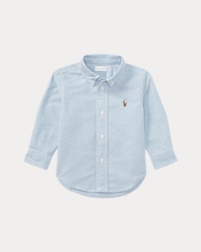 Baumwoll-Oxfordhemd