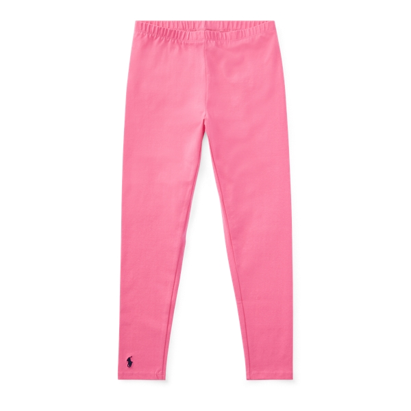 Ralph Lauren Stretch Cotton Jersey Legging Bright Pink/Pink Jewel S