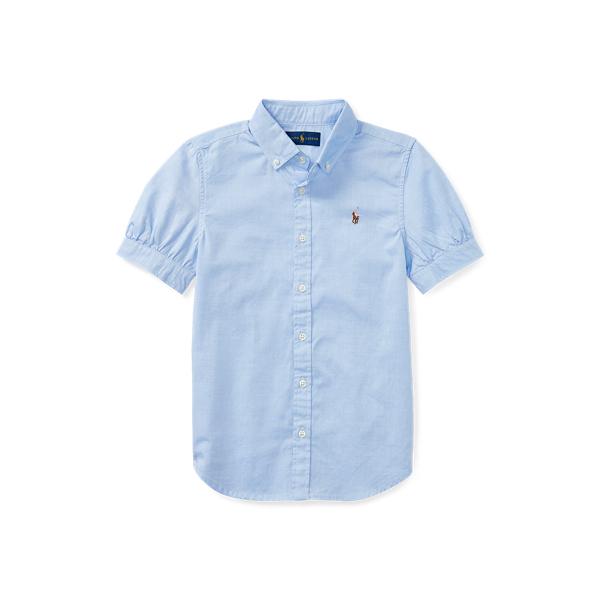 폴로 랄프로렌 걸즈 옥스포드 셔츠 Polo Ralph Lauren Oxford Shirt,Blue