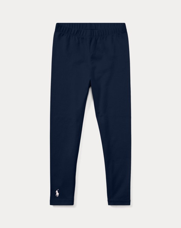 폴로 랄프로렌 여아용 레깅스 Polo Ralph Lauren Stretch Jersey Legging,French Navy