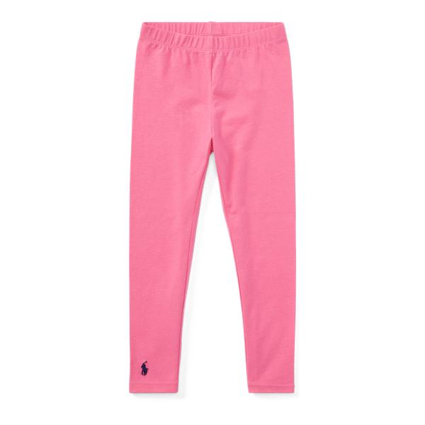 Ralph Lauren Stretch Cotton Legging Baja Pink 2T