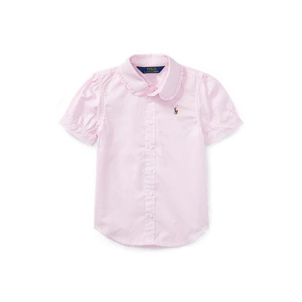 폴로 랄프로렌 여아용 셔츠 Polo Ralph Lauren Oxford Shirt,Pink