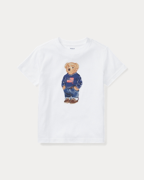 9b91fb67eb0caa Polo Bear Cotton T-Shirt