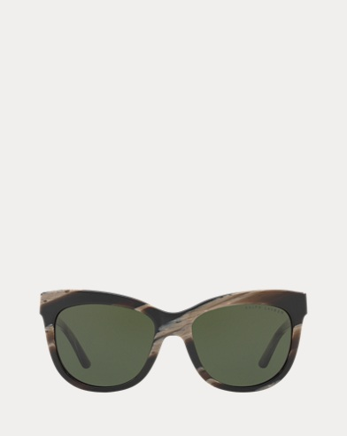 Eckige Cat-Eye-Sonnenbrille