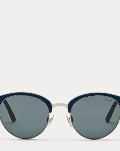 Panto-Sonnenbrilleaus Nylonfaser