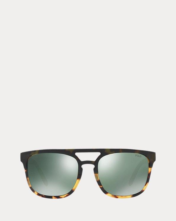 Step-Cut Square Sunglasses