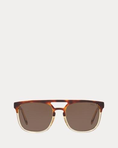Sonnenbrille mit Treppenschliff