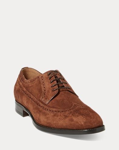 Fullbrogue Banstead aus Wildleder