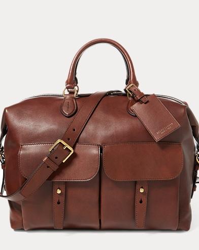 Calfskin Sahara Duffel Bag