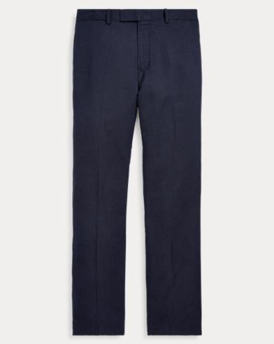 Classic Fit Linen-Blend Pant