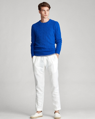 dd0e4ec5e Cable-Knit Cashmere Sweater