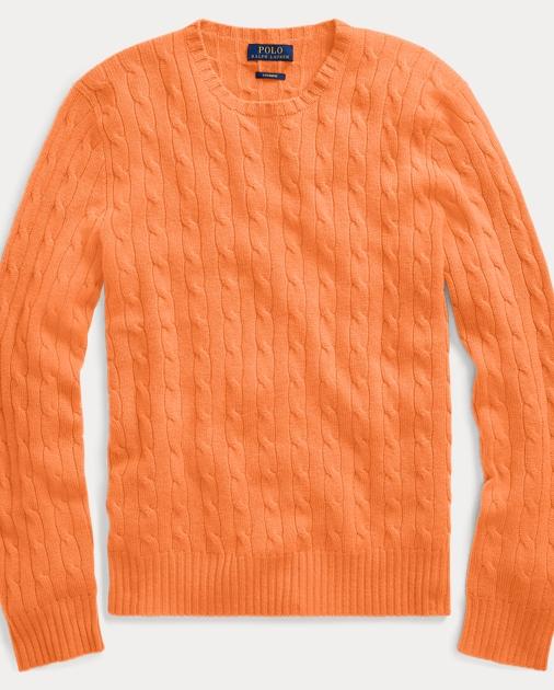 556e402d7 Polo Ralph Lauren Cable-Knit Cashmere Sweater 1