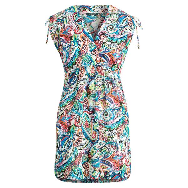 Ralph Lauren Paisley Cotton Cover-Up Multi S