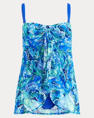 Paisley One-Piece Swimsuit. Lauren Woman