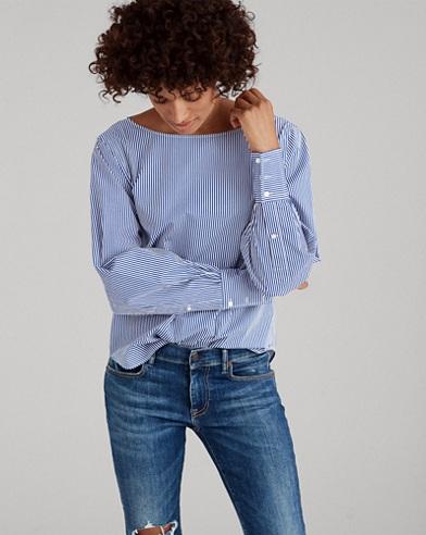 Bengal-Stripe Cotton Top