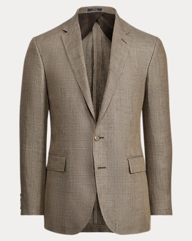 Polo Glen Plaid Suit Jacket