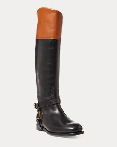 Sade Burnished Calfskin Boot