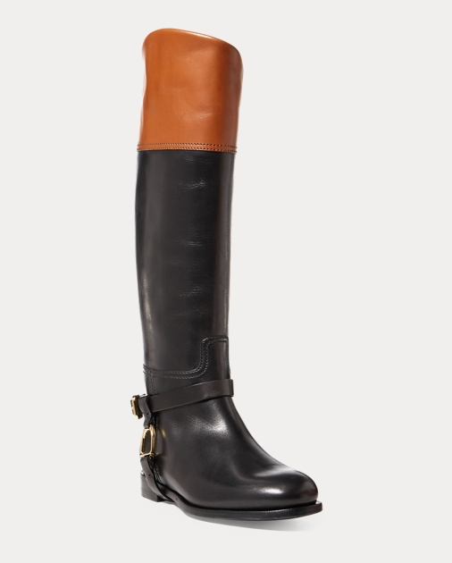 Ralph Lauren Sade Burnished Calfskin Boot 2
