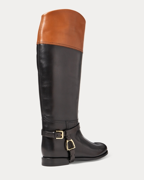 Ralph Lauren Sade Burnished Calfskin Boot 3