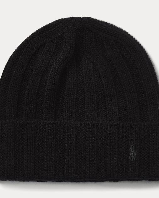 f64072250ef Polo Ralph Lauren Wide-Rib Cashmere-Wool Cap 1