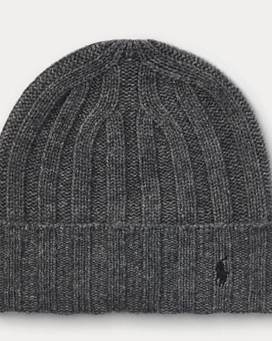 Wide-Rib Cashmere-Wool Cap