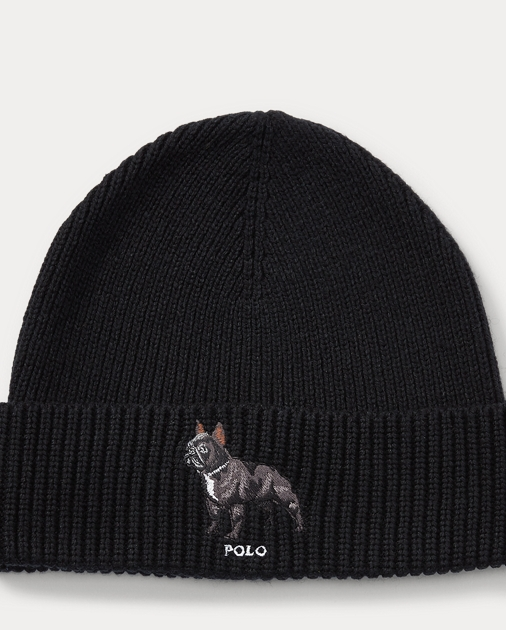 a51ea2b4704d8 Polo Ralph Lauren French Bulldog Watch Cap 1