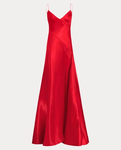 Adelle Mikado Gown | Evening Dresses | Ralph Lauren
