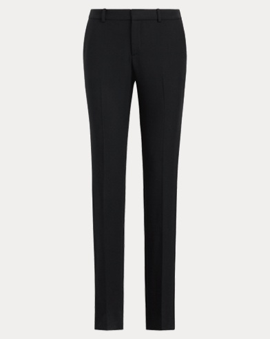 Sydney Wool-Silk Tuxedo Pant
