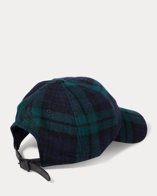 ee6461a26d Tartan Wool-Blend Fitted Cap