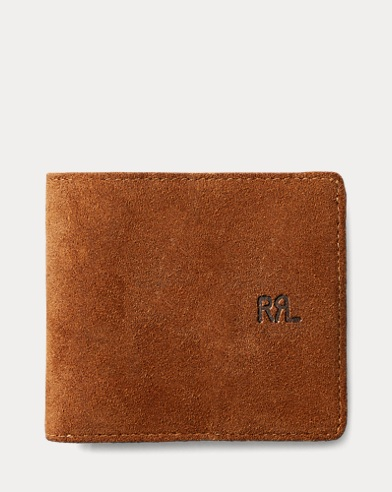 Roughout Suede Billfold