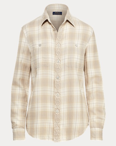 Camicia scozzese Relaxed-Fit