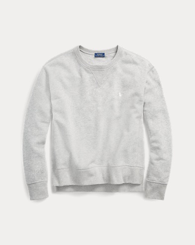 Leichtes Fleece-Sweatshirt