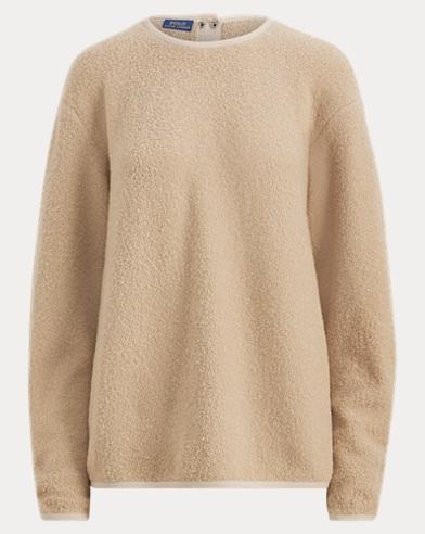 Wool-Blend Bouclé Sweater
