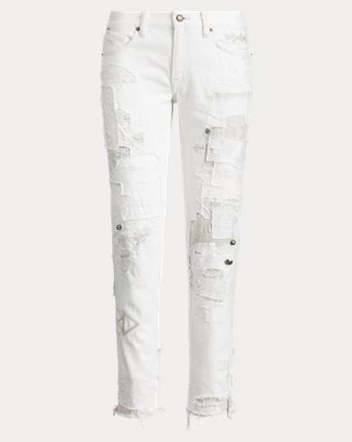 Slim-Fit Boyfriend-Jeans Astor