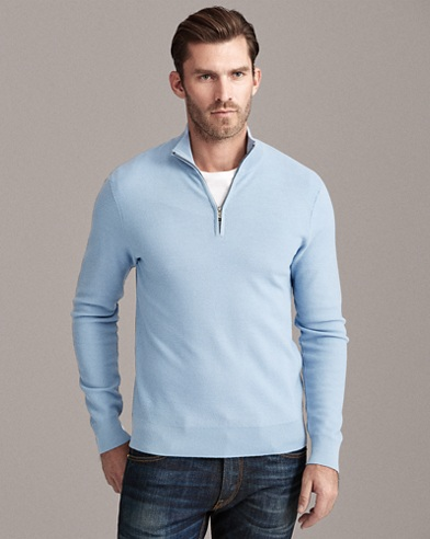 Merino-Cashmere-Piqué Sweater